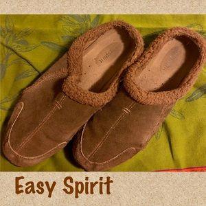 Easy Spirit Suede Mule / Clog Toocute 11 (43)